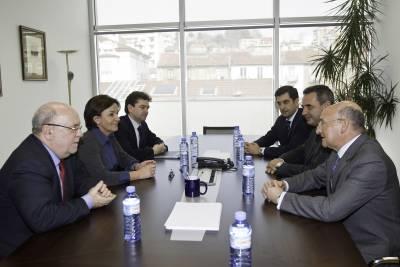 Gorostiaga y Sota se han reunido con los representantes de Atos Origin